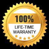 Life-time Warranty